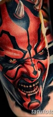 фото тату дьявол от 25.08.2017 №061 – Tattoo 13 – Devil tattoo – tatufoto.com