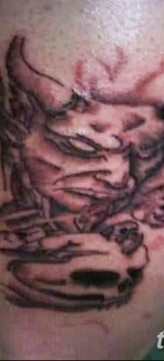 фото тату дьявол от 25.08.2017 №072 – Tattoo 13 – Devil tattoo – tatufoto.com