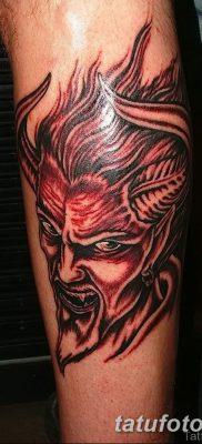 фото тату дьявол от 25.08.2017 №078 – Tattoo 13 – Devil tattoo – tatufoto.com