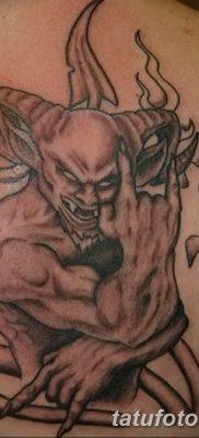 фото тату дьявол от 25.08.2017 №080 – Tattoo 13 – Devil tattoo – tatufoto.com