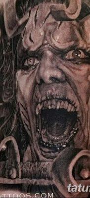 фото тату дьявол от 25.08.2017 №085 – Tattoo 13 – Devil tattoo – tatufoto.com