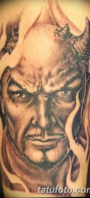 фото тату дьявол от 25.08.2017 №088 – Tattoo 13 – Devil tattoo – tatufoto.com
