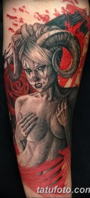 фото тату дьявол от 25.08.2017 №093 – Tattoo 13 – Devil tattoo – tatufoto.com
