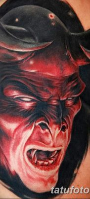 фото тату дьявол от 25.08.2017 №094 – Tattoo 13 – Devil tattoo – tatufoto.com 123235123