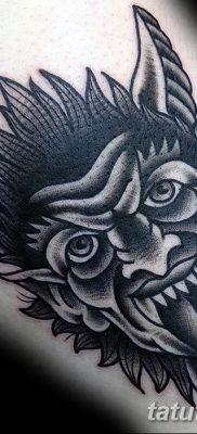 фото тату дьявол от 25.08.2017 №099 – Tattoo 13 – Devil tattoo – tatufoto.com