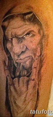 фото тату дьявол от 25.08.2017 №106 – Tattoo 13 – Devil tattoo – tatufoto.com