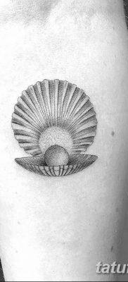 фото тату жемчуг от 25.08.2017 №010 – pearl tattoo – tatufoto.com