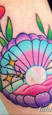фото тату жемчуг от 25.08.2017 №016 – pearl tattoo – tatufoto.com