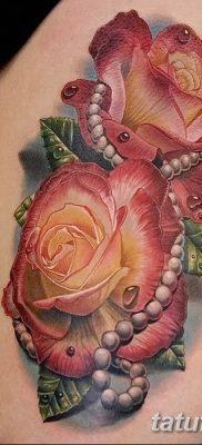фото тату жемчуг от 25.08.2017 №035 – pearl tattoo – tatufoto.com