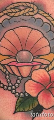 фото тату жемчуг от 25.08.2017 №037 – pearl tattoo – tatufoto.com