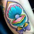 фото тату жемчуг от 25.08.2017 №060 - pearl tattoo - tatufoto.com