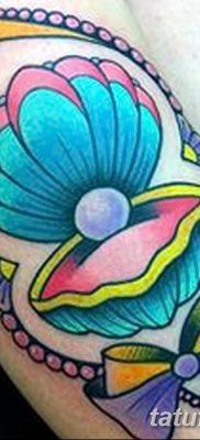 фото тату жемчуг от 25.08.2017 №060 – pearl tattoo – tatufoto.com