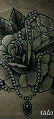 фото тату жемчуг от 25.08.2017 №063 – pearl tattoo – tatufoto.com