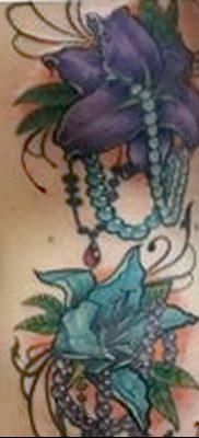фото тату жемчуг от 25.08.2017 №085 – pearl tattoo – tatufoto.com