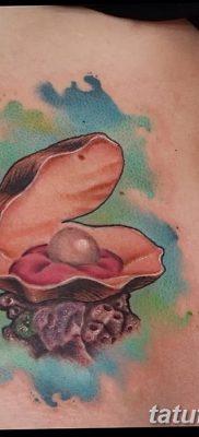 фото тату жемчуг от 25.08.2017 №087 – pearl tattoo – tatufoto.com