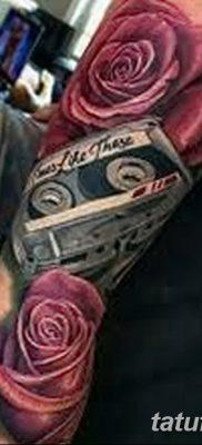 фото тату кассета от 28.08.2017 №002 – Tattoo cassette – tatufoto.com