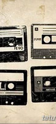 фото тату кассета от 28.08.2017 №016 – Tattoo cassette – tatufoto.com
