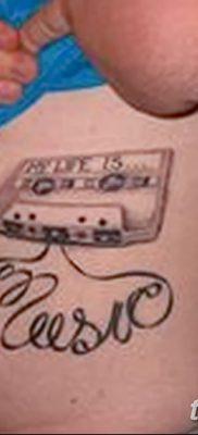 фото тату кассета от 28.08.2017 №024 – Tattoo cassette – tatufoto.com