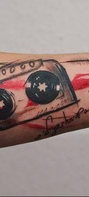 фото тату кассета от 28.08.2017 №027 – Tattoo cassette – tatufoto.com