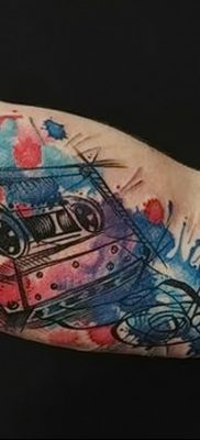 фото тату кассета от 28.08.2017 №030 – Tattoo cassette – tatufoto.com