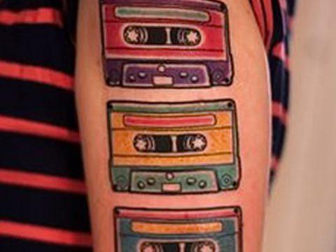фото тату кассета от 28.08.2017 №105 - Tattoo cassette - tatufoto.com