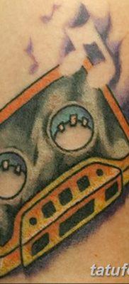 фото тату кассета от 28.08.2017 №113 – Tattoo cassette – tatufoto.com