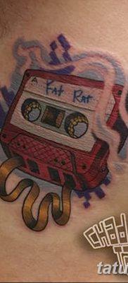 фото тату кассета от 28.08.2017 №127 – Tattoo cassette – tatufoto.com