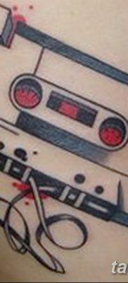 фото тату кассета от 28.08.2017 №143 – Tattoo cassette – tatufoto.com