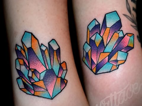фото тату кристалл от 27.08.2017 №087 - Tattoo crystal - tatufoto.com