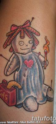 фото тату кукла вуду от 08.08.2017 №003 – Tattoo doll voodoo_tatufoto.com