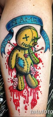 фото тату кукла вуду от 08.08.2017 №006 – Tattoo doll voodoo_tatufoto.com