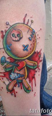 фото тату кукла вуду от 08.08.2017 №009 – Tattoo doll voodoo_tatufoto.com