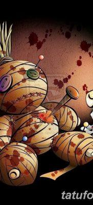 фото тату кукла вуду от 08.08.2017 №013 – Tattoo doll voodoo_tatufoto.com