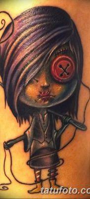 фото тату кукла вуду от 08.08.2017 №025 – Tattoo doll voodoo_tatufoto.com