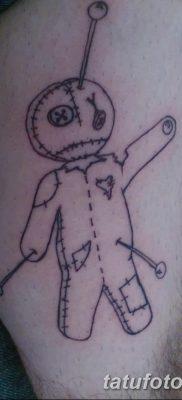 фото тату кукла вуду от 08.08.2017 №036 – Tattoo doll voodoo_tatufoto.com