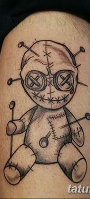 фото тату кукла вуду от 08.08.2017 №041 – Tattoo doll voodoo_tatufoto.com