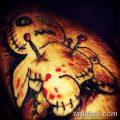 фото тату кукла вуду от 08.08.2017 №045 - Tattoo doll voodoo_tatufoto.com