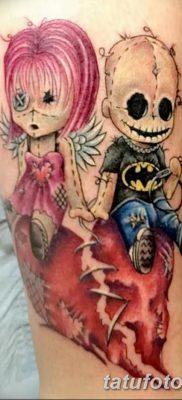 фото тату кукла вуду от 08.08.2017 №046 – Tattoo doll voodoo_tatufoto.com