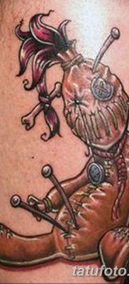 фото тату кукла вуду от 08.08.2017 №049 – Tattoo doll voodoo_tatufoto.com