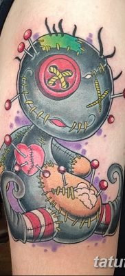 фото тату кукла вуду от 08.08.2017 №080 – Tattoo doll voodoo_tatufoto.com
