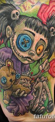 фото тату кукла вуду от 08.08.2017 №081 – Tattoo doll voodoo_tatufoto.com