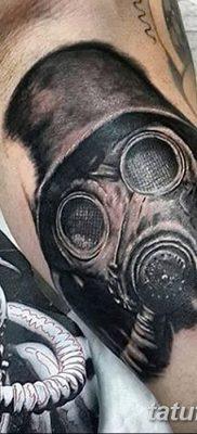 фото тату противогаз от 11.08.2017 №006 – Tattoo gas mask_tatufoto.com