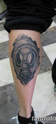 фото тату противогаз от 11.08.2017 №036 – Tattoo gas mask_tatufoto.com