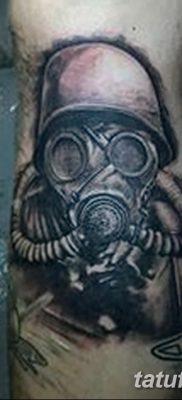 фото тату противогаз от 11.08.2017 №141 – Tattoo gas mask_tatufoto.com
