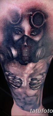 фото тату противогаз от 11.08.2017 №149 – Tattoo gas mask_tatufoto.com