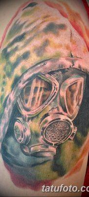 фото тату противогаз от 11.08.2017 №150 – Tattoo gas mask_tatufoto.com