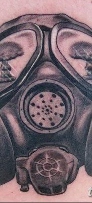 фото тату противогаз от 11.08.2017 №156 – Tattoo gas mask_tatufoto.com