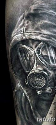 фото тату противогаз от 11.08.2017 №161 – Tattoo gas mask_tatufoto.com