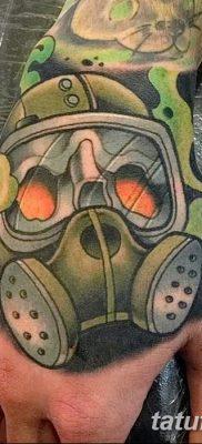 фото тату противогаз от 11.08.2017 №168 – Tattoo gas mask_tatufoto.com