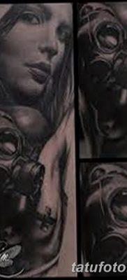 фото тату противогаз от 11.08.2017 №170 – Tattoo gas mask_tatufoto.com